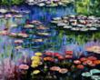 &quot;Water Lilies (pink)&quot; by Claude Monet came in fourth on overstockArt.coms annual Mothers Day Top 5 Oil Paintings list.